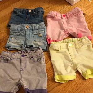 Gap shorts size 18-24 months adjustable